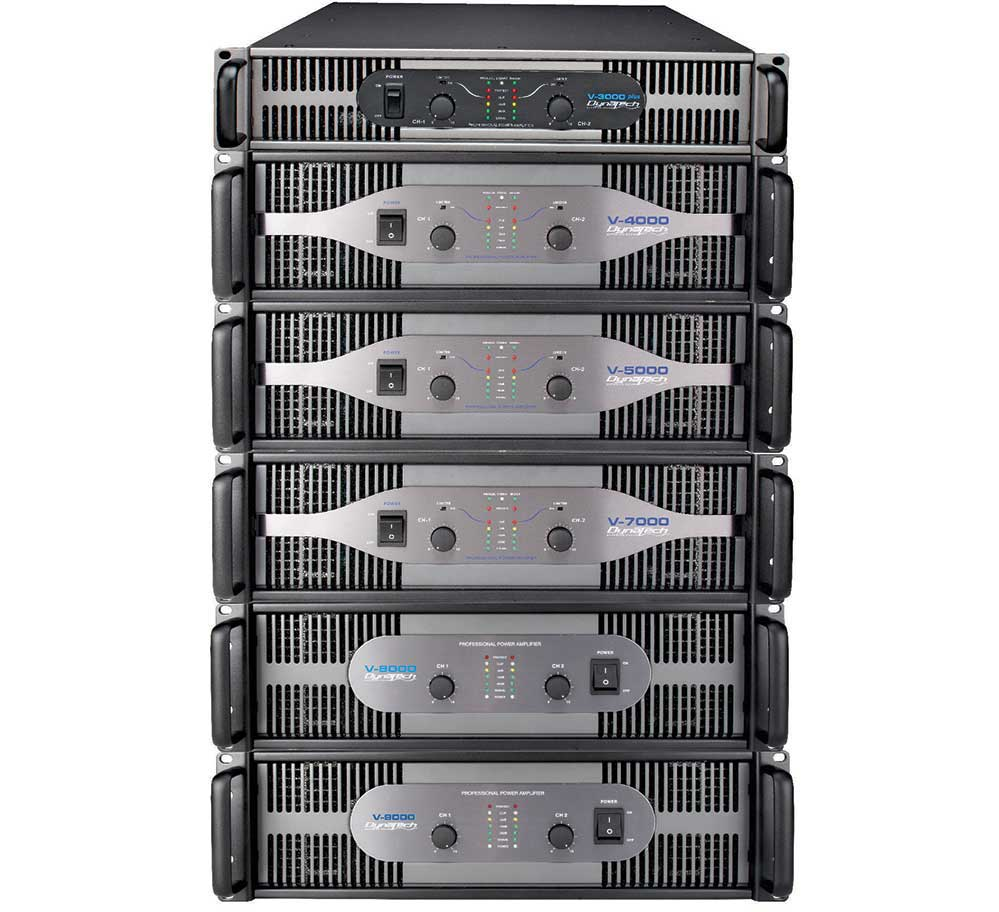 V Series Audio Power Amplifier 1500 Watt High