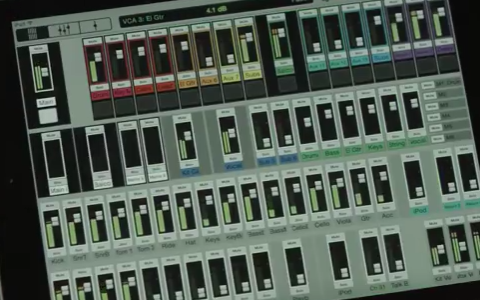 Mackie DL32R - Video - Features - Master Fader Control App