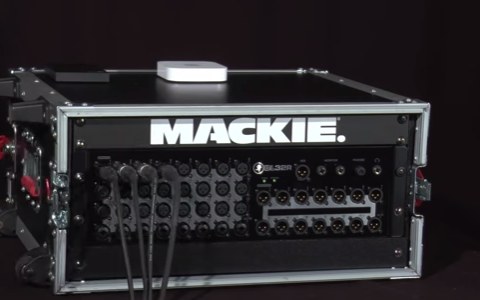 Mackie DL32R - Video - Setup - Hardware
