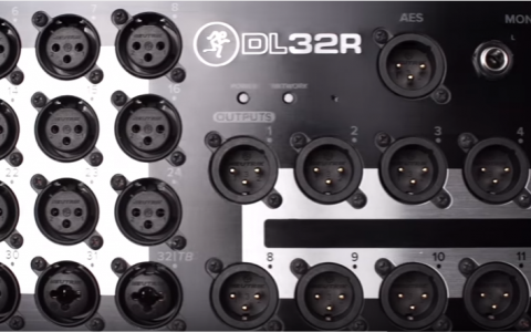 Mackie DL32R Overview Video