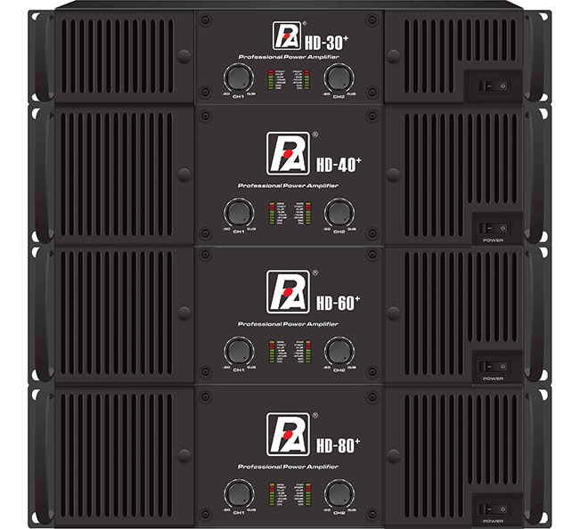 P Audio Hd Series Amplifiers