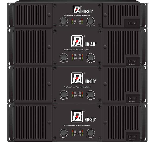 P Audio HD+ Series Amplifiers